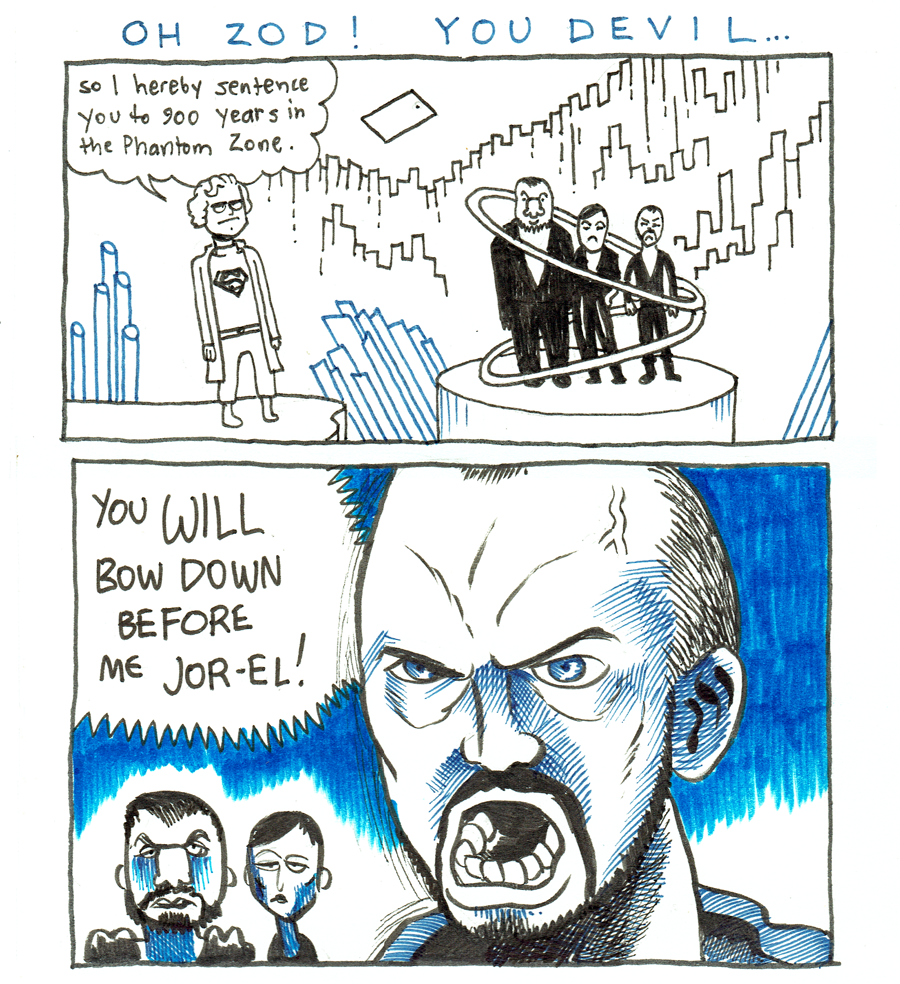 Oh Zod! You Devil…